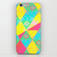 transparent iPhone & iPod Skins featuring Transparent Triangle by Lillian Cassidy