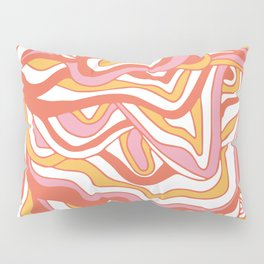orbs: 1960's psychedelic festival Pillow Sham