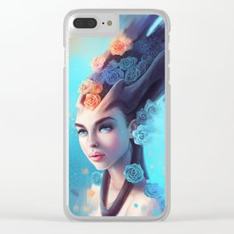 Sweet Delusion Clear iPhone Case
