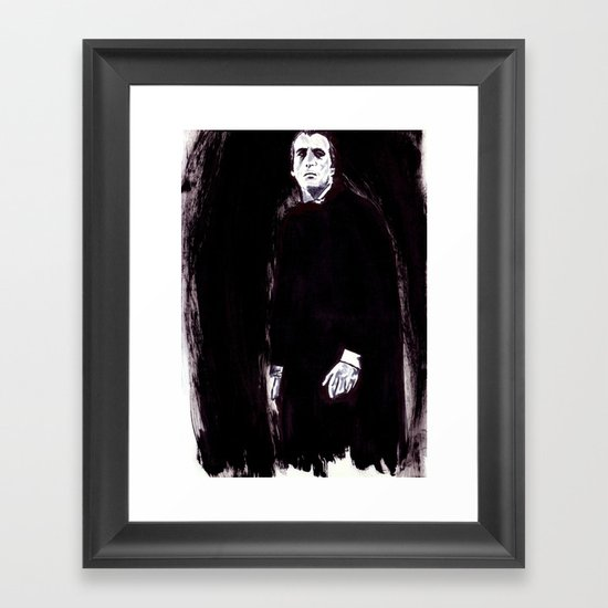 Count Dracula Framed Art Print