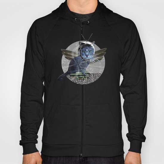 The Dream of the Dead Cat Hoody