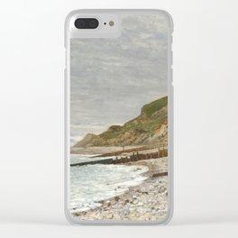 La Pointe de la Hève, Sainte-Adresse by Claude Monet Clear iPhone Case