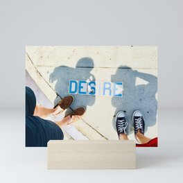 Desire and Us Mini Art Print