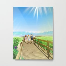 To The Island Metal Print
