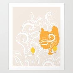Chick poster Art Print
