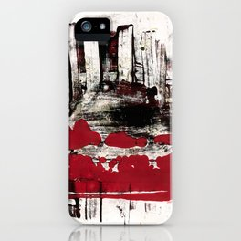 blood and marrow v2 iPhone Case