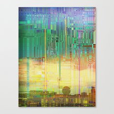 Atlante / CITIES over CITIES Canvas Print