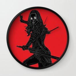 Gamora, GuardiansOfTheGalaxy Wall Clock