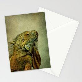 Green Iguana Stationery Cards