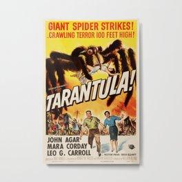Vintage poster - Tarantula Metal Print