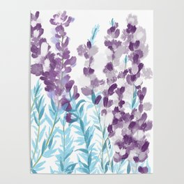 Lupines Poster