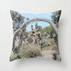 Joshua Tree Arch Throw Pillow