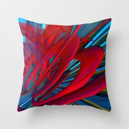 Strobe Reactor Throw Pillow