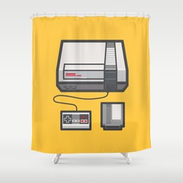 Retro Memories Shower Curtain