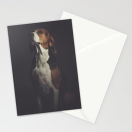 Portrait of a Young Dog Stationery Cards