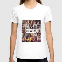 ashton irwin T-shirts featuring Irwin Ashton // Collage by Fan_Girl_Designs