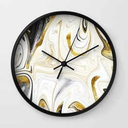 Metalsmith Latte Wall Clock