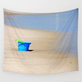 Little Blue Bucket Wall Tapestry