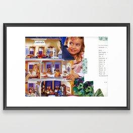 Lessons in Girlhood Framed Art Print