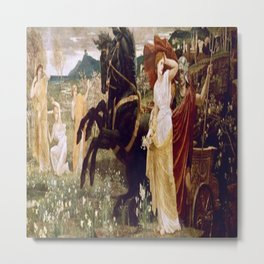 """""""The Fate of Persephone"""" by Gustave Moreau (1886) Metal Print"""