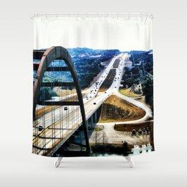 Austin's 360 Bridge Shower Curtain