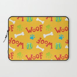 Neck Gaiter Puppy Pattern Woof Neck Gator Laptop Sleeve