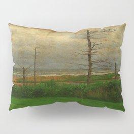 Landscape | Desolate Beach | Stormy Seascape | PEI Canada | Nadia Bonello Pillow Sham