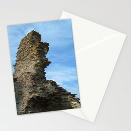 RUINED WALL TINTAGEL CASTLE CORNWALL Stationery Cards