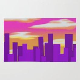 Purple City Rug
