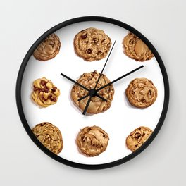 Quest for the Best: Chocolate Chip Cookies Wall Clock