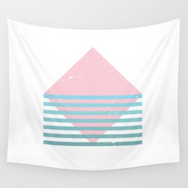80s Ocean Mountain Wall Tapestry