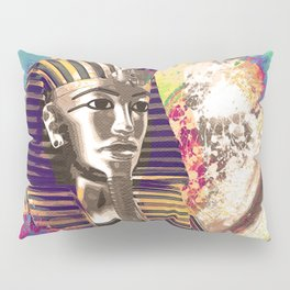 King Tut  Mask Abstract composition Pillow Sham