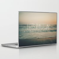 leah flores Laptop & iPad Skins featuring Let's Run Away by Laura Ruth and Leah Flores  by Laura Ruth