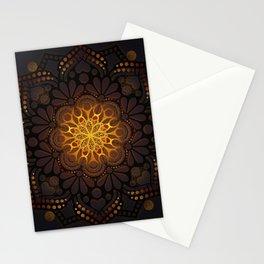 """Warm light Moroccan lantern Mandala"" Stationery Cards"