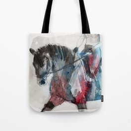Horse (Motion vs Progress) Tote Bag
