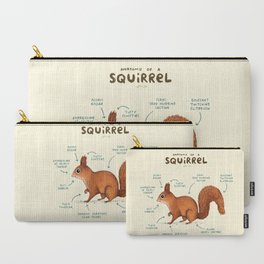Anatomy of a Squirrel Carry-All Pouch