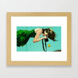 Lady in the Water Framed Art Print