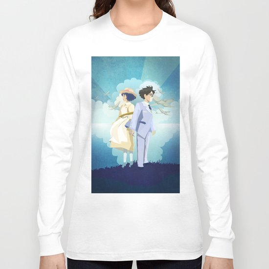 The Wind Rises Long Sleeve T Shirt By Julieluke Society6