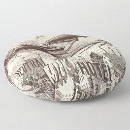 Neutral Milk Hotel - Box Set Artwork Floor Pillow