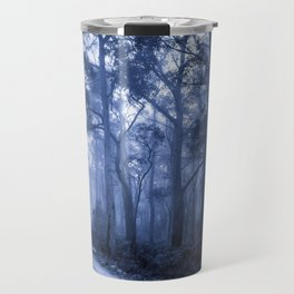 Dark Misty Road Travel Mug