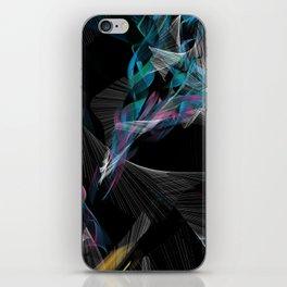Color Streaks 4 iPhone Skin