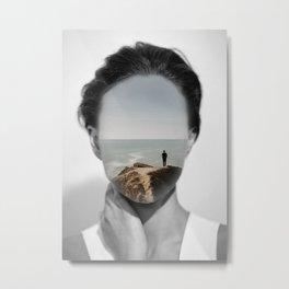 Silence 3 Metal Print