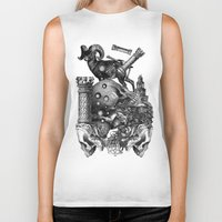 pagan Biker Tanks featuring Pagan wiccan by DIVIDUS