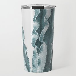 Cacti in Blue Travel Mug