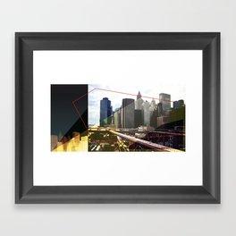 NY01 Framed Art Print