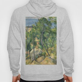 """Paul Cezanne """"View of the sea at L'Estaque"""" Hoody"""