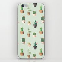 succulents iPhone & iPod Skins featuring Succulents  by Tasteful Tatters