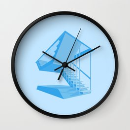 St. John's Stairs Wall Clock