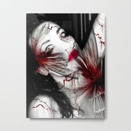 Broken Doll Metal Print