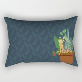 London Garden Rectangular Pillow